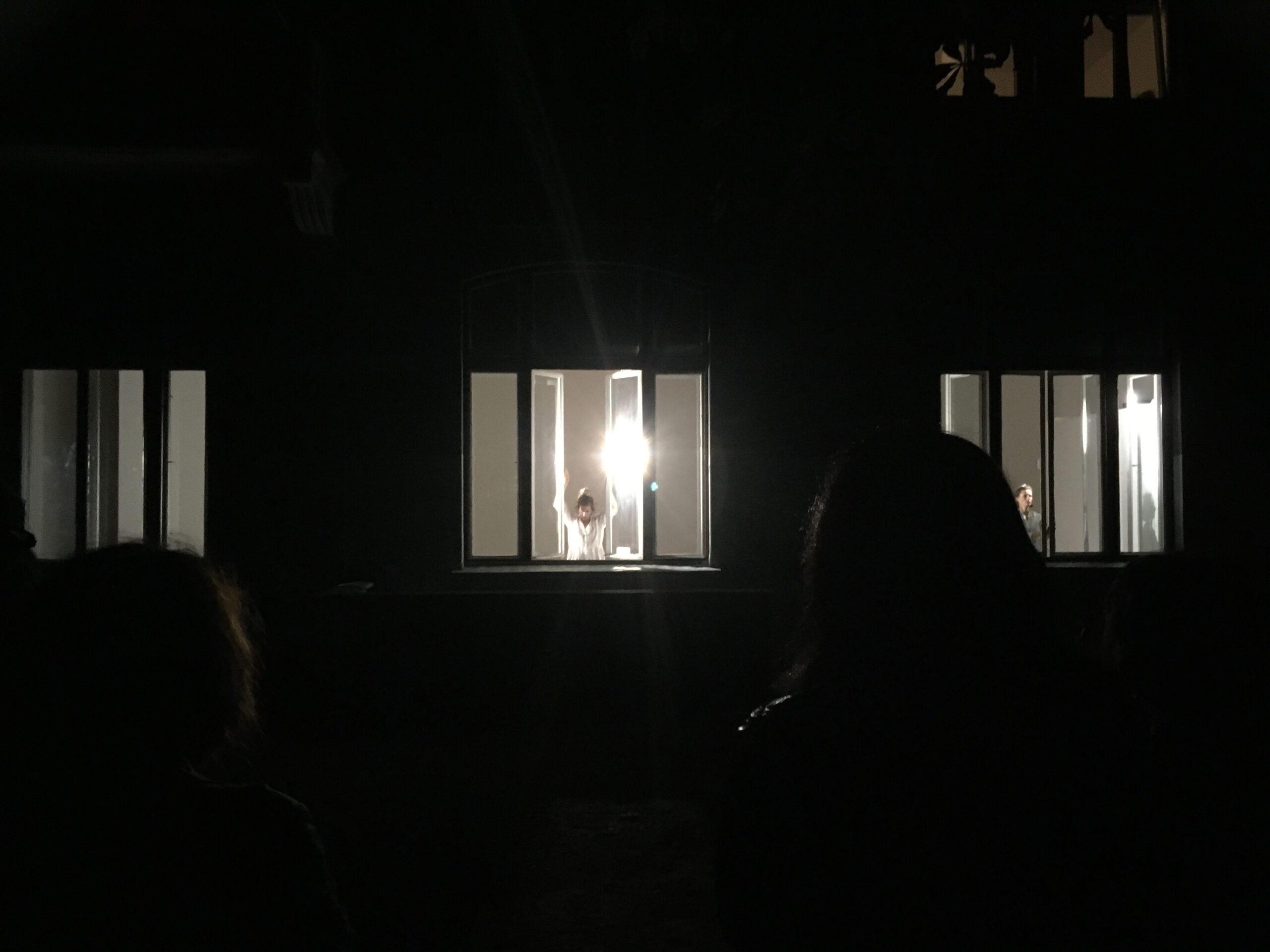 Rear Window – Dancers Without Answers by Rebeka Kunej